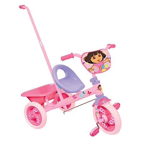 Dora The Explorer Trike with Push Handle - Riding Toys - Outdoor Play - Toys - The Warehouse