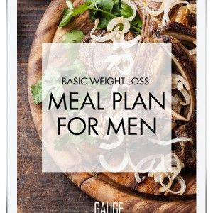 Weight Loss Meal Plan for Men -