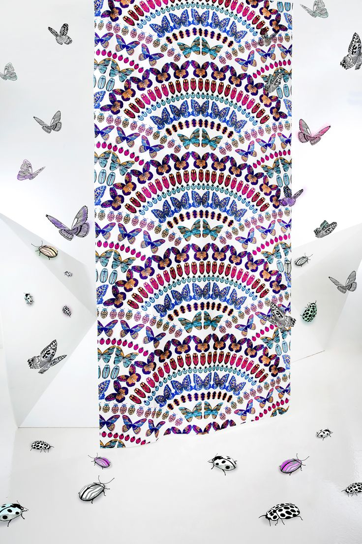 Papilio curtain (multi)