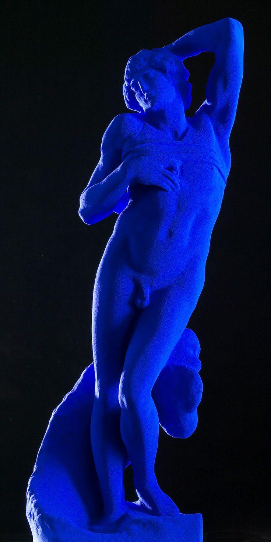Michelangelo blues by Yves Klein