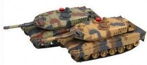 Zestaw wzajemnie walczących czołgów RTR 1:24