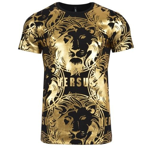tee shirt versace gold