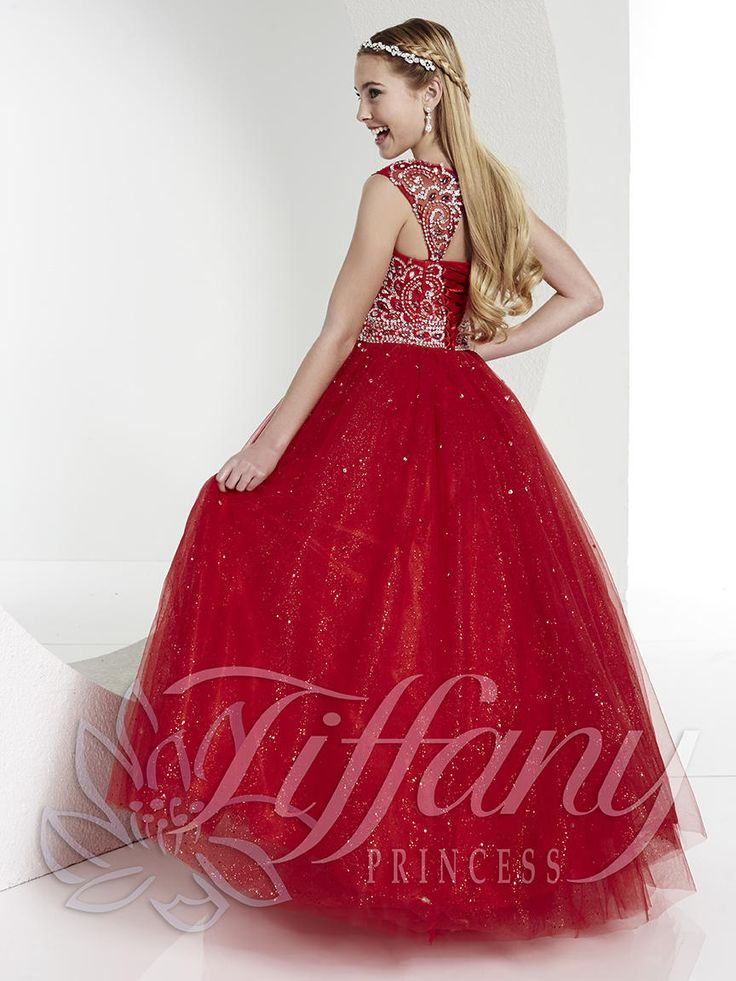 Tiffany Princess Pageant Dress Style 13422