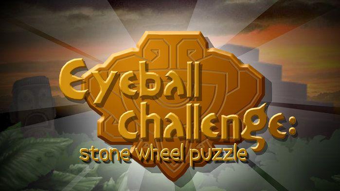 Eyeball challenge: stone wheel puzzle - Science (5,6,7,8,9)