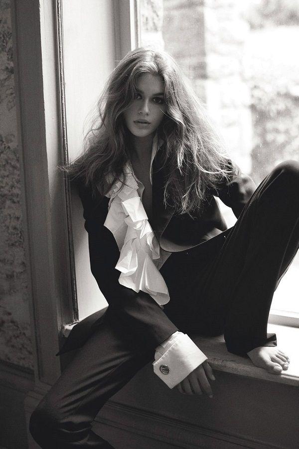 Kaia Gerber Vogue UK 2017, фотосессия Кайи Гербер для Vogue UK 2017