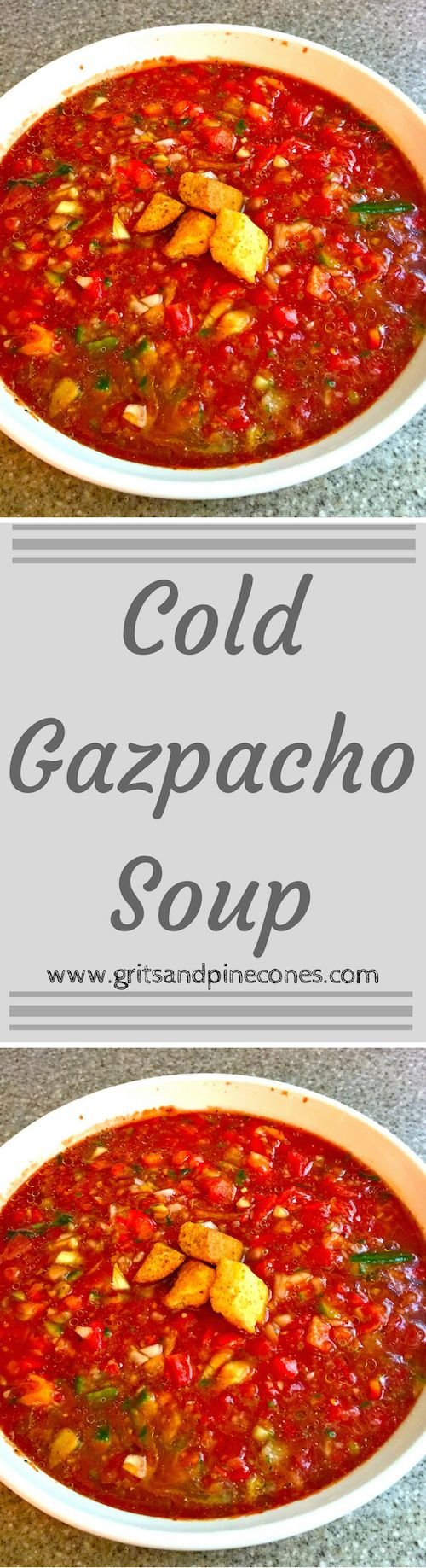 This Gazpacho recipe is quick and easy, and you can have a nutritious meal on… (Low Carb Easy Crockpot)
