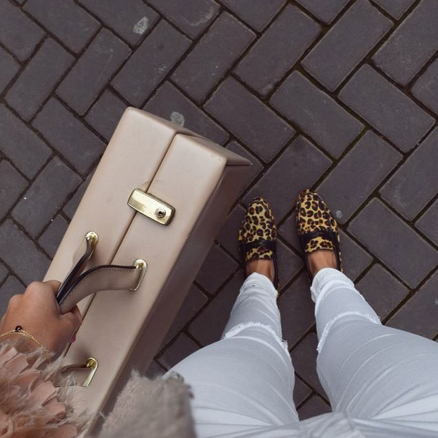 O'Quirey Lady Paris Wild | Jaguar #OQuirey #Leopard #Shoes #Suitcase