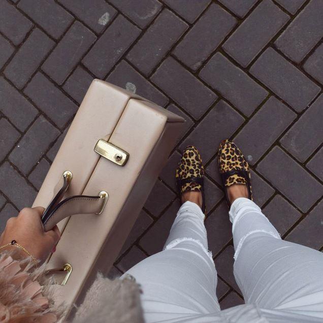 O'Quirey Lady Paris Wild | Jaguar #OQuirey #Leopard #Shoes #Suitcase