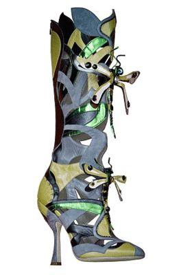 Shoe Art | Miu Miu Dragonfly #shoeart