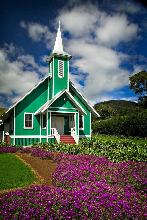 Church in Waimea - Big Island of Hawaii