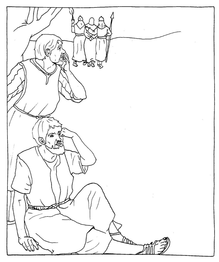Catholic Alphabet Coloring Pages : Catholic stations of the cross coloring pages