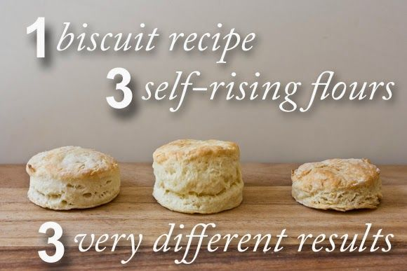 self rising flour vs all purpose flour