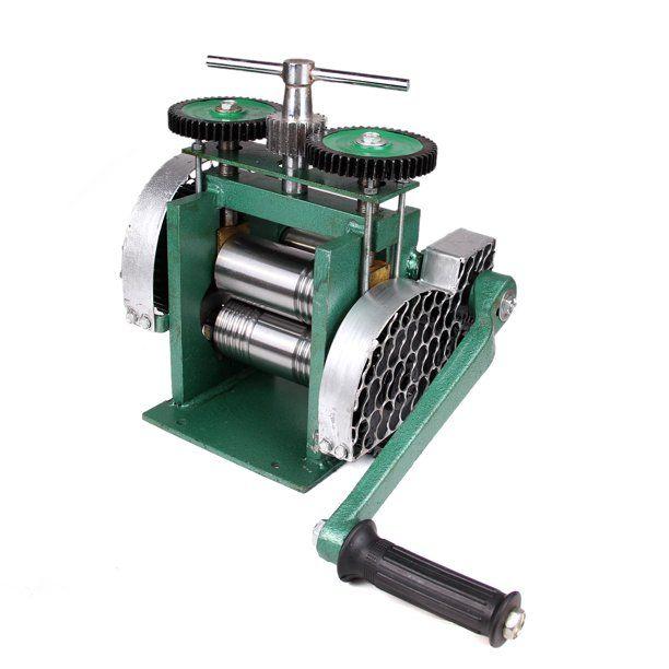 3 Manual Combination Rolling Mill Machine Jewelry Press Tabletting Tool Jewelry Diy Tool Make Sheet Wire Flat 80mm Walmart Com In 2020 Rolling Mill Diy Tools Machine Design