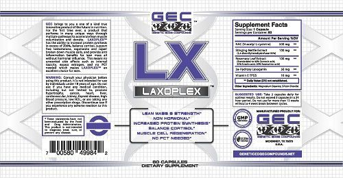 Genetic Edge Compounds Issues Voluntary Nationwide Recall of GEC Laxoplex Dietary Supplement Capsules Due to Presence of Anabolic Steroids #instafollow #vitaminB #followback #F4F