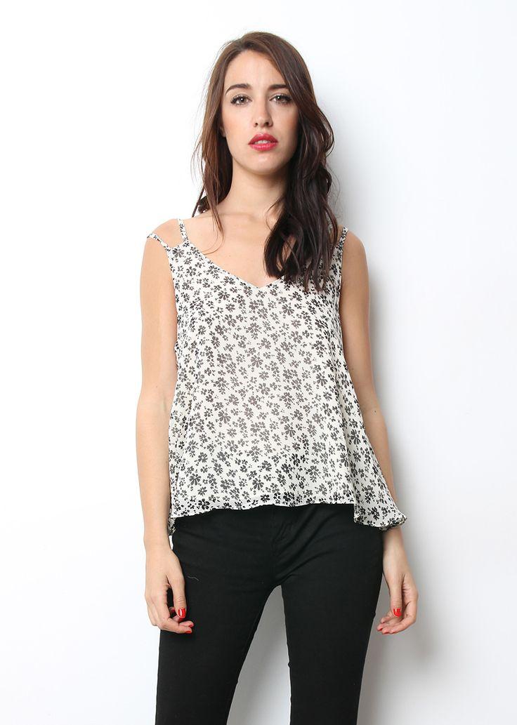 Blusa floreada fresquita para este verano chicas, a sólo 12.95€