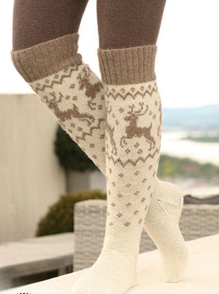 long socks. knit socks. knitted socks. Wool socks. Norwegian socks. Christmas socks. gift to man. gift to a woman. men's socks. women socks by WoolMagicShop on Etsy https://www.etsy.com/listing/248784146/long-socks-knit-socks-knitted-socks-wool