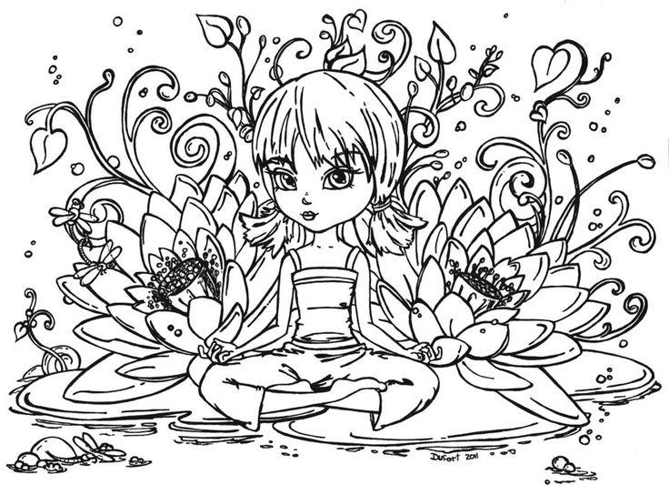Zen Attitude By JadeDragonnedeviantart On DeviantART Coloring SheetsAdult