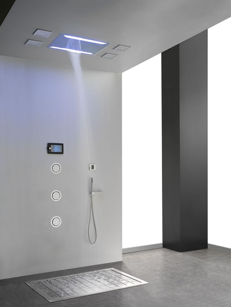 The Aqua Sense Shower System Restores Your Energy With A 6 Color LED  Chromotherapy