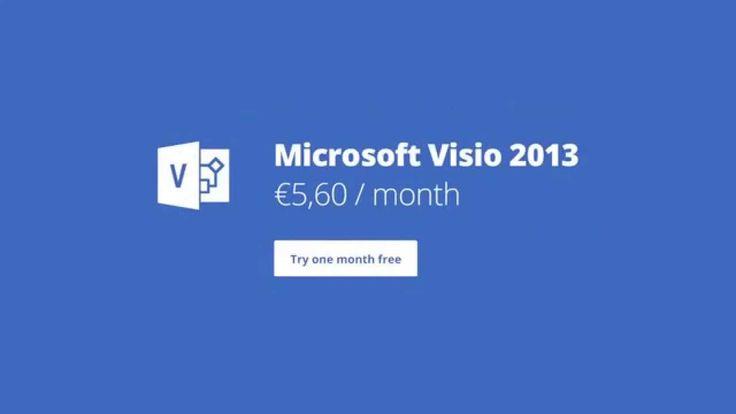 Microsoft Visio Standard 2013 - remote access #msvisio #visiostandard