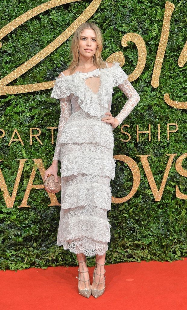 British Fashion Awards 2015 - Red Carpet Arrivals - Celebrity Fashion Trends