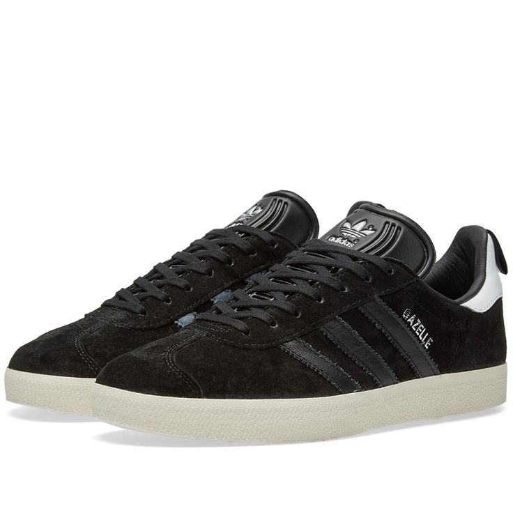 Refining the original \u002791 model, adidas produce the Gazelle sneaker with  premium nubuck uppers and ostrich leather three-stripes that add a touch of  luxury ...