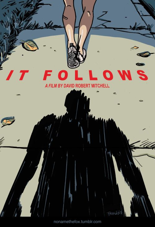 It Follows - Miklós Felvidéki ---- This one seems very divisive but I like the film and this poster. horrorkid.com