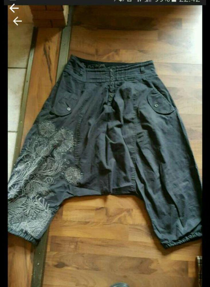 DESIGUAL ausgefallene Hose Haremshose Größe 38 in Kleidung & Accessoires, Damenmode, Hosen | eBay!