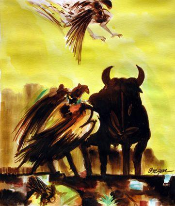 La Casa de Asterión No. 42 - Vol. XII - La pintura de Alejandro Obregón - Sala III. ALEJANDRO OBREGÓN - COLOMBIA