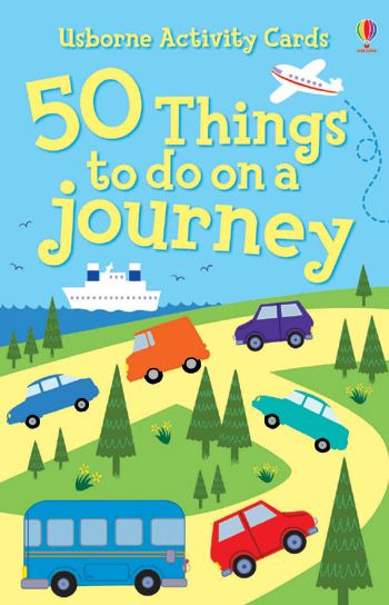 This fantastic pack of cards is full of fun games and things to do on a journey.   Just choose a card, then follow the simple instructions on the back.   A box of 50 cards each displaying a fun, enjoyable and engaging way to pass the time on long journeys. Activities include games such as noughts and crosses, as well as puzzles and quizzes using both objects which can be found inside the vehicle and the surrounding scenery.
