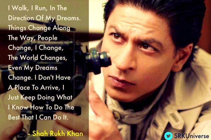 #SRKSays