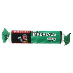 Bassetts Mint Imperials - Roll - 1.51oz (43g) http://www.englishteastore.com/bassetts-mint-imperials-roll.html