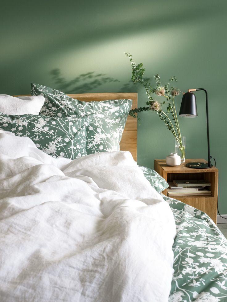 Micasa Schlafzimmer Mit Perkal Bettwäsche MORENA U0026 Bett LAMBERT