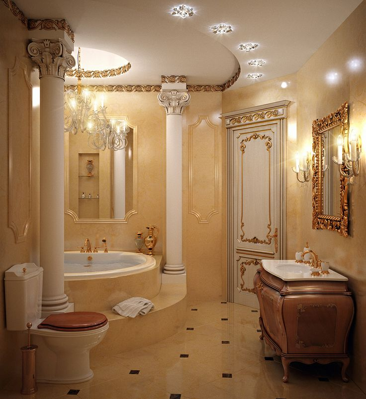 Luxury Royal Bathrooms 217 Best Fancy Interiors Images