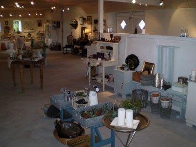 Romantikken's shop in Hårslev,  5471 Søndersø