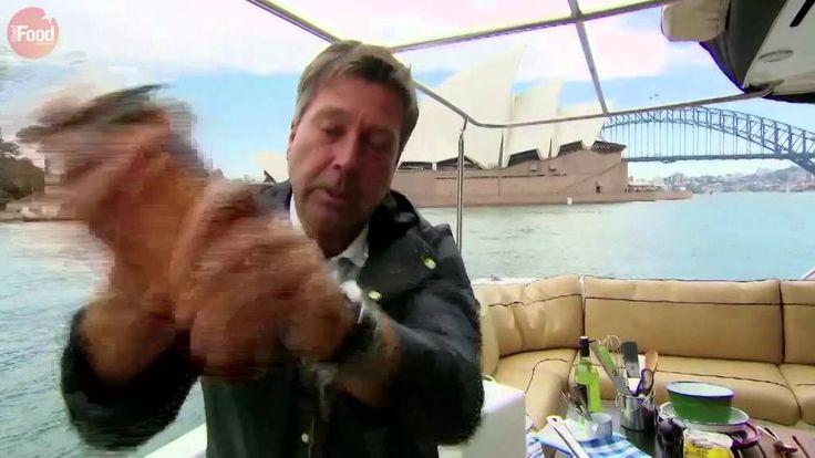 John Torode - Prawn cocktail canapés