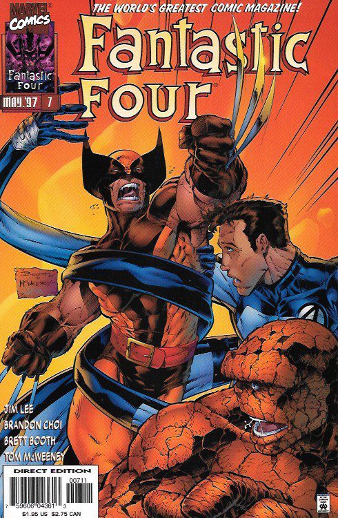 Fantastic Four # 7 Marvel Comics Vol 2
