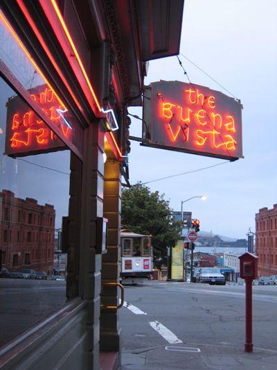 Buena Vista famous for an Irish Coffee in San Francisco