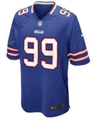 Nike Men's Marcell Dareus Buffalo Bills Game Jersey - Blue XL
