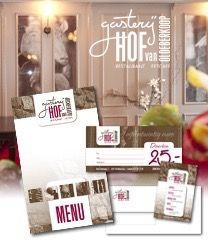 Logo- en huisstijlontwerp, fotografie en interieuronderdelen verzorgen voor een sfeervol restaurant #ontwerp #fotografie #logo #huisstijl
