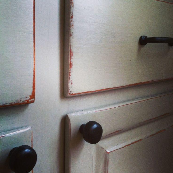 Epoxy Paint Kitchen Cabinets Milk Paint Kitchen Cabinets: 22 Best Milk Painted Kitchens Images On Pinterest