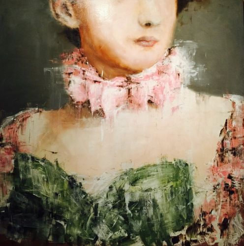 Figurative Oil Paintings: Elli by James Doherty