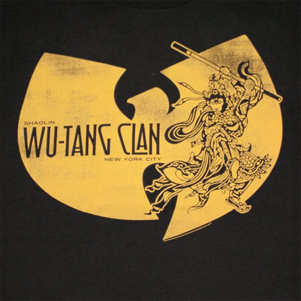 Wu-Tang Clan Shaolin Ninja Graphic Black T-Shirt | WearYourBeer.com