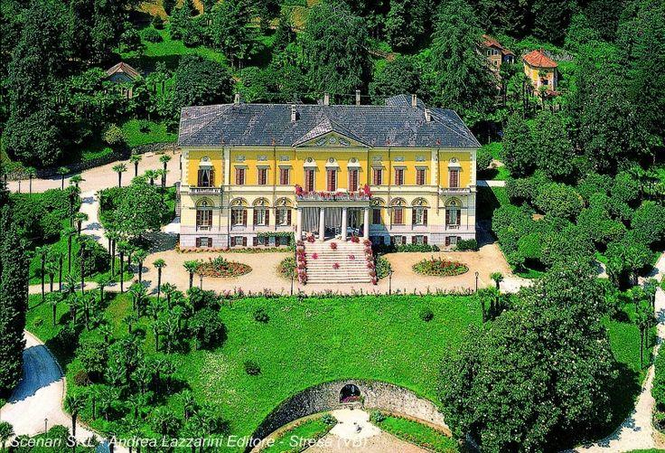 una perla del Lago.....Villa Faraggiana. Meina (Novara, Piemonte, Italy)