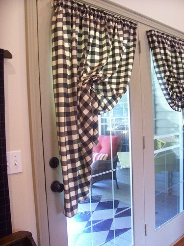1000 Images About French Door Curtains On Pinterest
