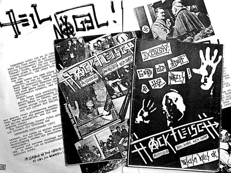 """Lecker HACKFLEISCH: """"Stahlgeschütze für Untermenschen (2): Führervisionen und Versagerfrust"""". Wie es in 1983 in Hannover mit HACKFLEISCH losging - und Karl Nagel zum Führer ernannt wurde! http://www.karlnagel.de/fuehrervisionen-und-versagerfrust/"""