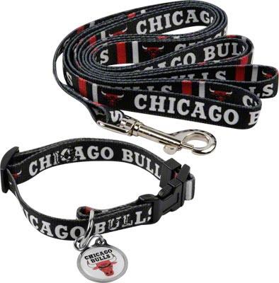 Chicago Bulls Dog Collar & Leash Set $29.99