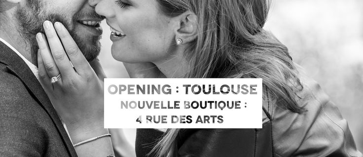 Nouvelle Boutique à Toulouse : 4, rue des Arts #Zeinaworld #ZeinaAlliances #Wedding #Alliances