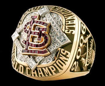 The first World Series ring I ever truly cared about.