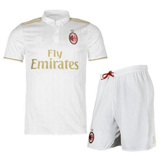ac milan away white cheap soccer kit (shirt+shorts)all jerseys are thailand aaa+ qualityorder will b