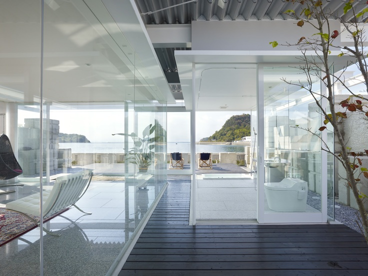 Glass House For Diver NAF Architect Design Find This Pin And More On Asia Pacific Interior Architecture Awards 2013